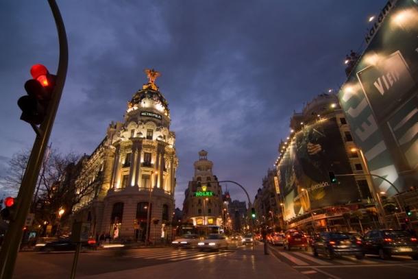 Gran Via - o que visitar em Madrid