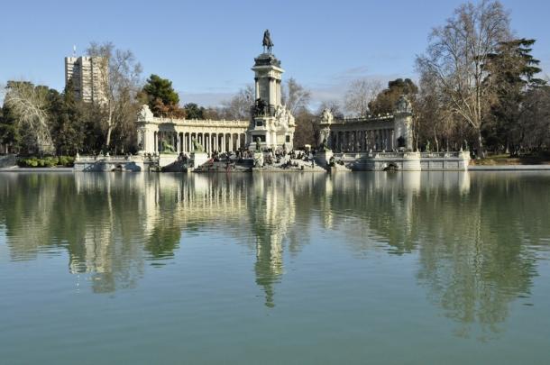 Parque del Retiro - o que visitar em Madrid